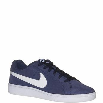 Tennis en cuir pour homme nike, Bleu, 803-9148 - 13