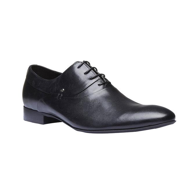 Chaussure lacée en cuir pour homme, Noir, 824-6708 - 13