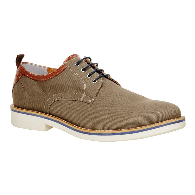 Chaussure lacée décontractée pour homme vagabond, Vert, 829-7002 - 13