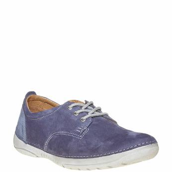 Chaussure homme en cuir weinbrenner, Violet, 846-9657 - 13