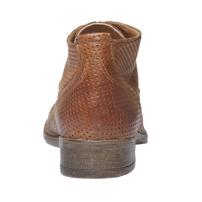 Bottine en cuir pour femme bata, Brun, 524-3468 - 17