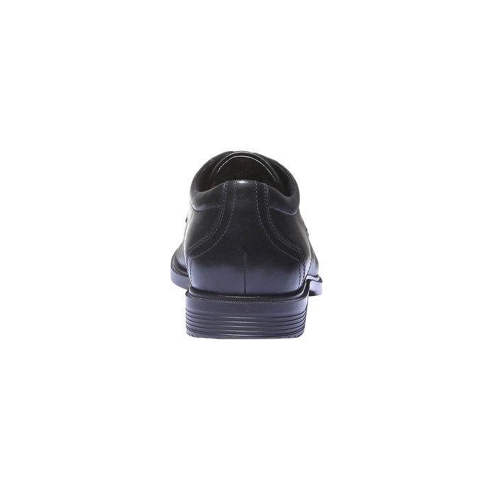 Chaussures lacées en cuir pour homme rockport, Noir, 824-6489 - 17