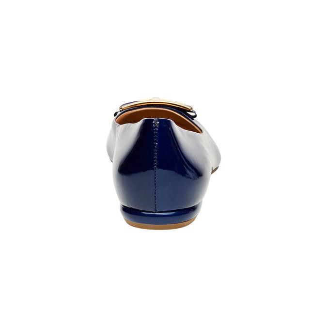 Ballerine en cuir avec nœud hogl, Violet, 528-9002 - 17