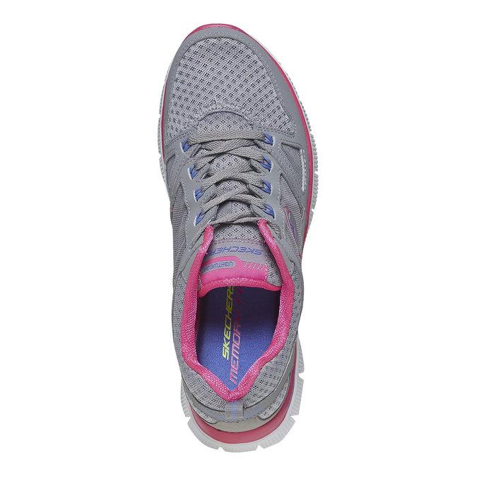 Chaussure de sport femme skecher, Gris, 509-2456 - 19