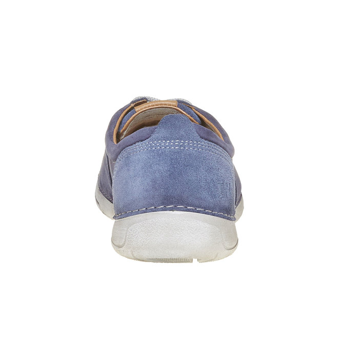 Chaussure homme en cuir weinbrenner, Violet, 846-9657 - 17
