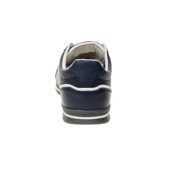 Basket en cuir pour homme levis, Violet, 844-9509 - 17
