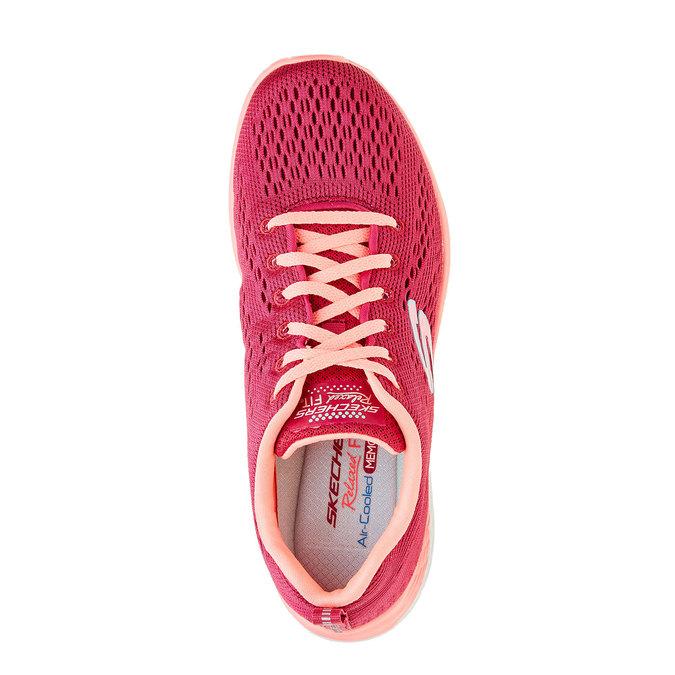 Chaussure de sport femme skecher, Rose, 509-5706 - 19