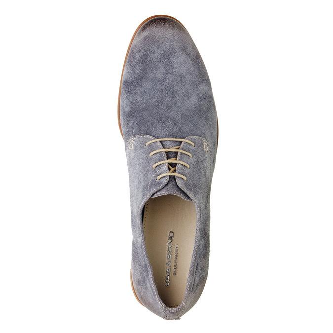 Chaussure lacée Derby en cuir vagabond, Violet, 823-9104 - 19
