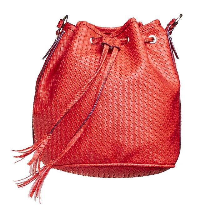 Bucket Bag bata, Rouge, 961-5787 - 17