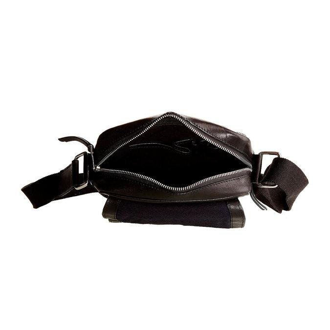 Le sac à bandoulière Seymur bata, Noir, 964-6100 - 15