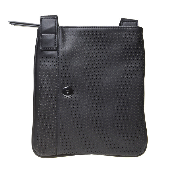 Sac Crossbody perforé bata, Noir, 961-6739 - 17