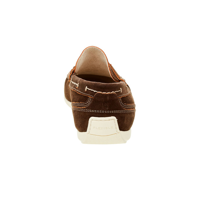 Mocassin en cuir homme flexible, Brun, 853-4190 - 17