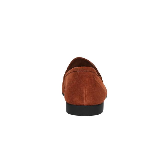 Mocassin en cuir homme flexible, Rouge, 853-5186 - 17