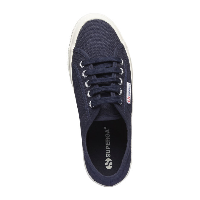 Tennis en toile superga, Violet, 589-9187 - 19