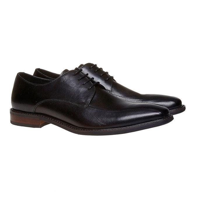 Chaussure lacée style Derby bata, Noir, 824-6311 - 26