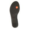 Sandale en cuir à talon compensé sundrops, Noir, 564-6400 - 26