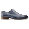 Chaussures en cuir Oxford shoemaker, Violet, 824-9594 - 26