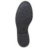 Chaussure lacée à semelle épaisse avec motifs Brogue bata, Noir, 521-6356 - 26