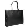 Sac à main anguleux style Shopper bata, Noir, 961-6736 - 13