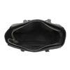 Sac à main Shopper avec surpiqûre et glands bata, Noir, 961-6287 - 15
