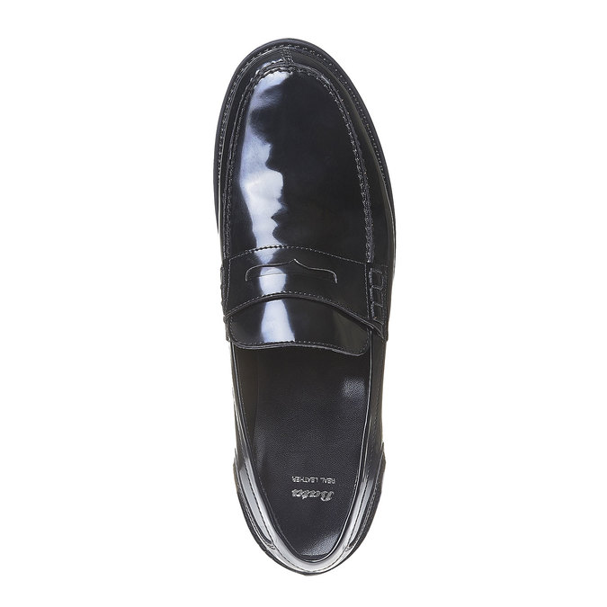Penny Loafers homme bata, Noir, 811-6150 - 19
