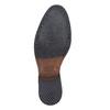 Chelsea Boots en cuir pour homme avec des motifs Brogue bata, Noir, 894-6201 - 26