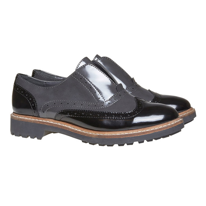 Chaussures Femme bata, Gris, 511-2194 - 26