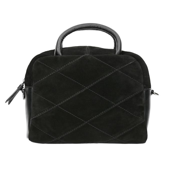 Petit sac bandoulière en cuir bata, Noir, 963-6133 - 26