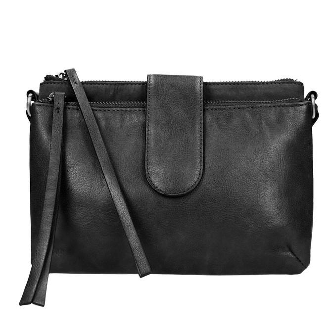 Petit sac à bandoulière bata, Noir, 969-6458 - 19