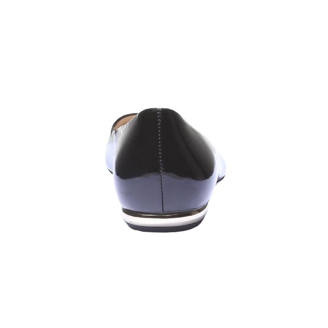 Ballerines vernies en cuir hogl, Noir, 528-6457 - 17