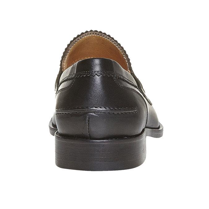 Mocassin en cuir homme bata-the-shoemaker, Noir, 814-6160 - 17