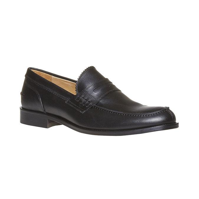 Mocassin en cuir homme bata-the-shoemaker, Noir, 814-6160 - 13