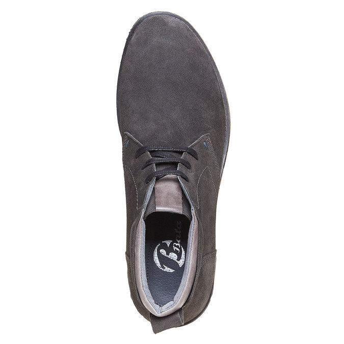 Chaussures Homme bata, Gris, 823-2533 - 19