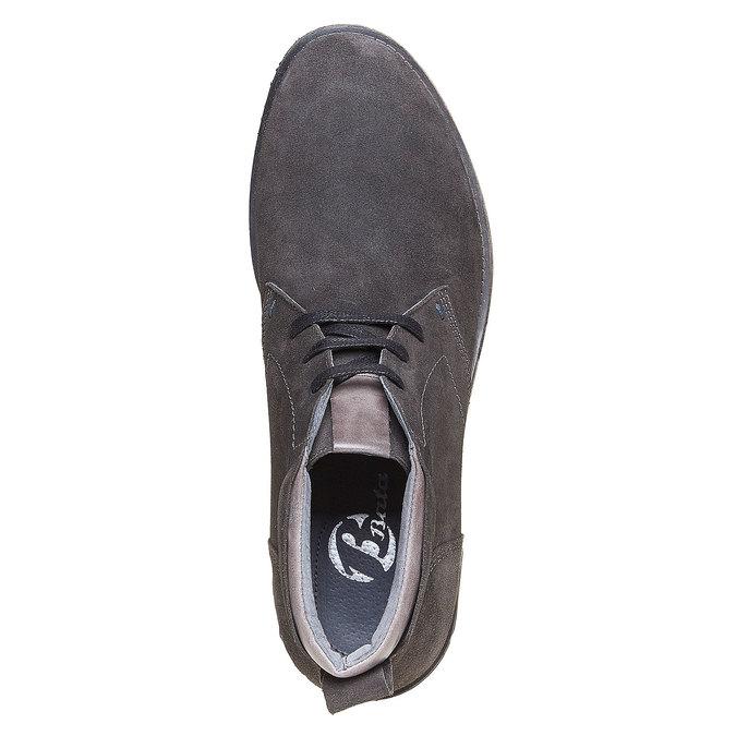 Chaussures Homme bata, Gris, 823-2533 - 19