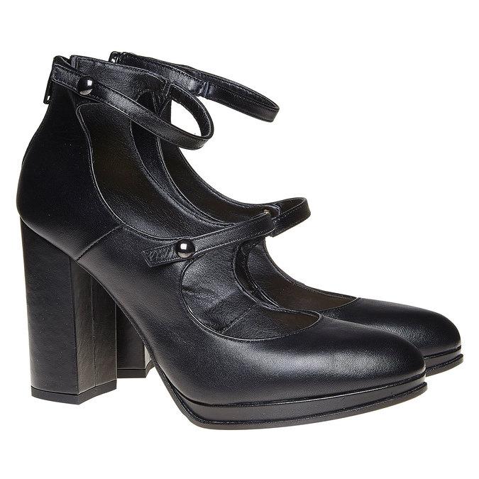 Chaussures Femme bata, Noir, 724-6471 - 26