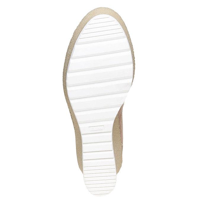 Chaussures Femme bata, Gris, 799-2254 - 26