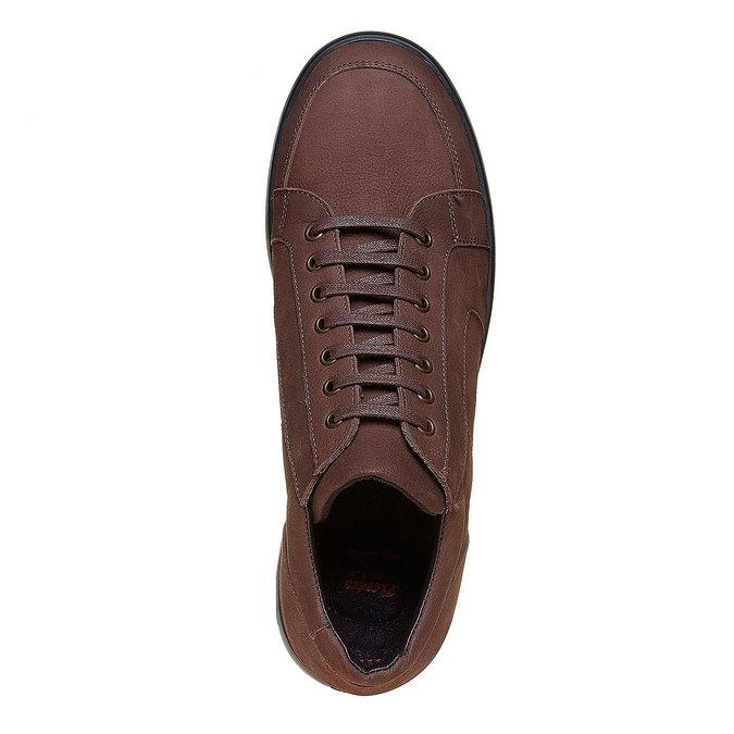 Chaussures Homme flexible, Brun, 846-4205 - 19