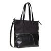 Sac à main dans le style Shopper bata, Noir, 961-6847 - 13