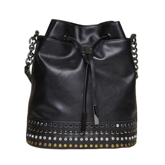 Sac à main dans le style Bucket Bag bata, Noir, 961-6126 - 26
