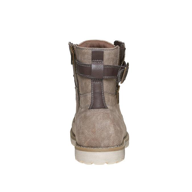 Chaussure montante homme bata, Gris, 891-2237 - 17