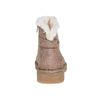 Bottines avec fausse fourrure bata, Gris, 599-2997 - 17