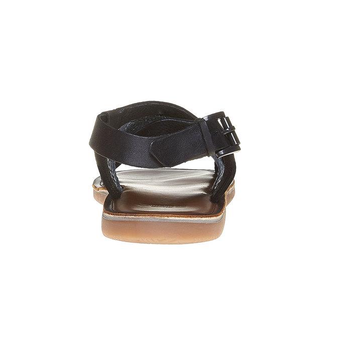 Sandale en cuir homme shoemaker, Violet, 864-9235 - 17