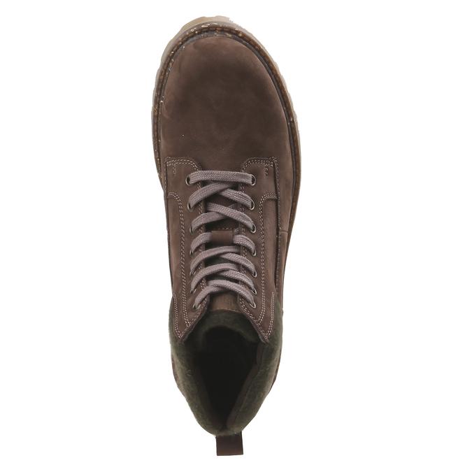 Chaussures de marche nubuck weinbrenner, Brun, 896-4628 - 19