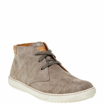 Chaussure homme en cuir weinbrenner, Brun, 843-2661 - 13