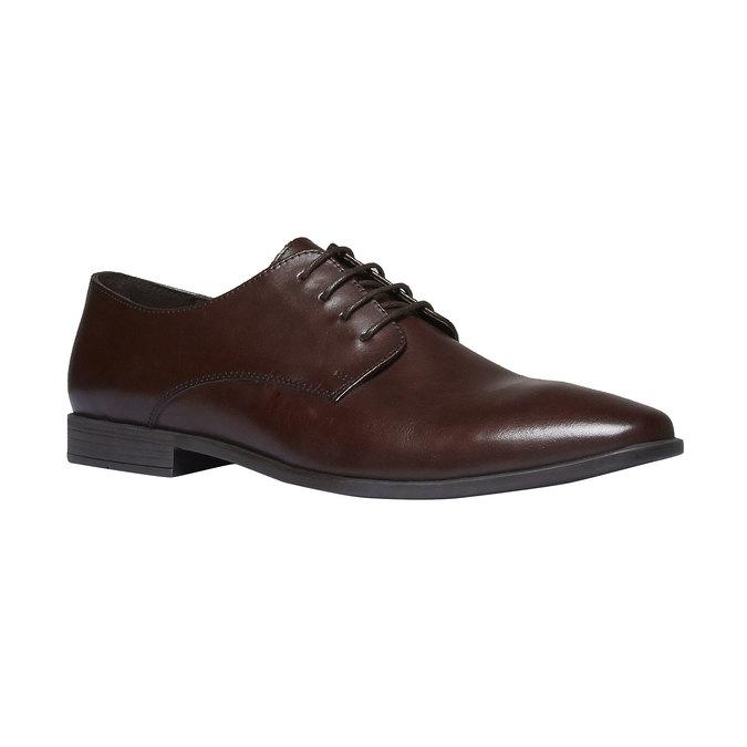 Chaussure lacée Derby en cuir bata, Brun, 824-4816 - 13