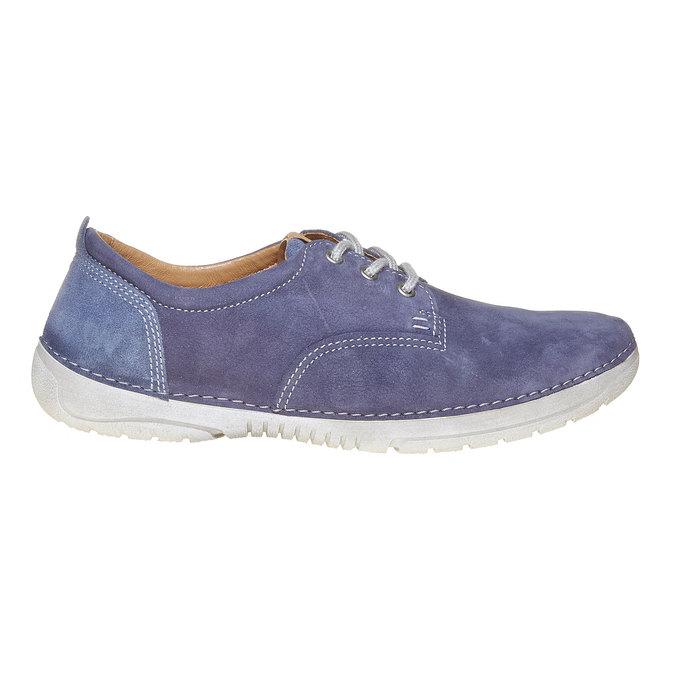 Chaussure homme en cuir weinbrenner, Violet, 846-9657 - 15
