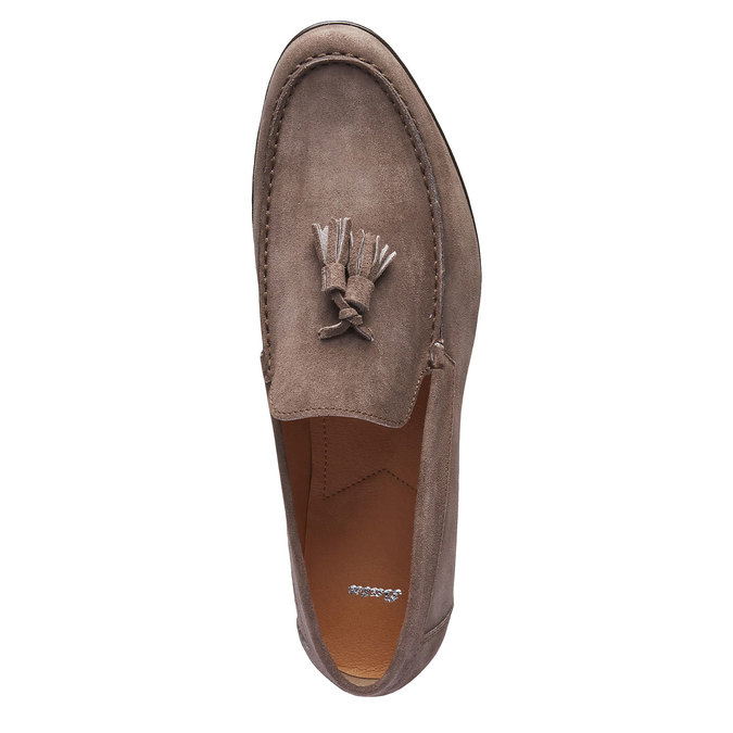 Mocassin en cuir homme shoemaker, Brun, 813-4149 - 19