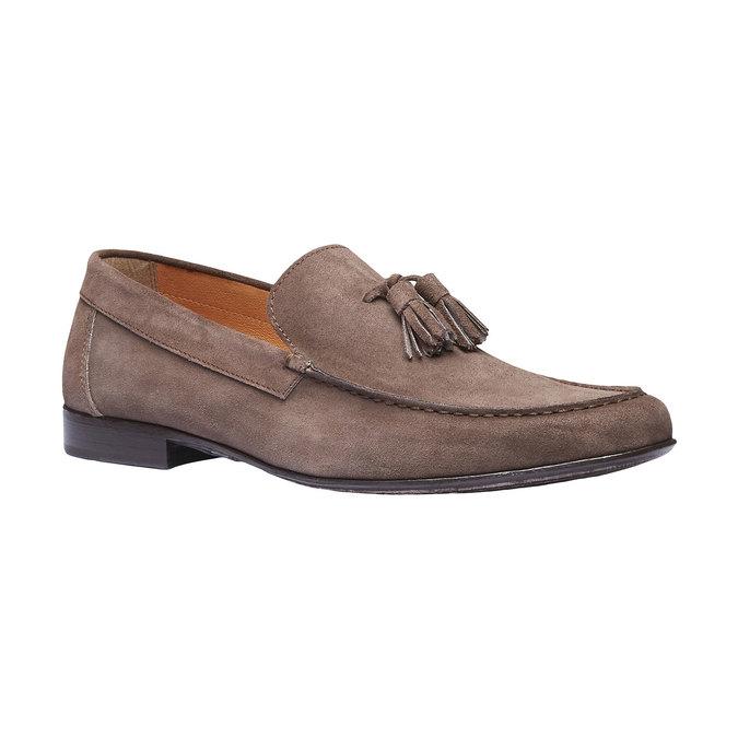 Mocassin en cuir homme shoemaker, Brun, 813-4149 - 13