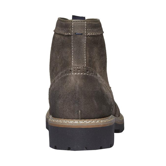 Boots en daim bata, Brun, 893-2372 - 17
