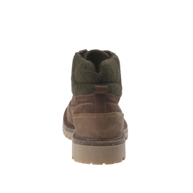 Chaussures de marche nubuck weinbrenner, Brun, 896-4628 - 17